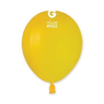 50 Ballons gelb Ø13cm