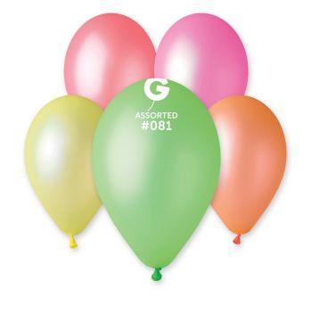 10 Fluoreszenz-Ballons Ø30cm