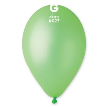 10 Leuchtballons grün Ø30cm