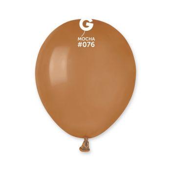 50 Ballons Moka Ø13cm