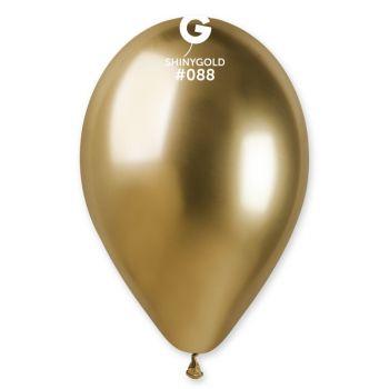 25 Ballons shinny metallic gold Ø33cm