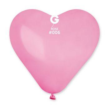 3 Ballons riesig rosa herz 44cm