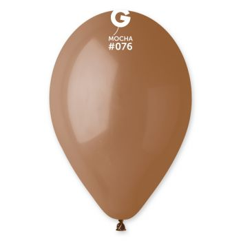 100 Ballons Mokka Ø30cm