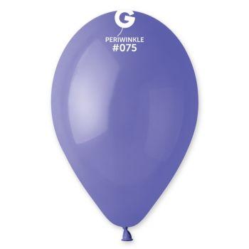 100 Ballons pervenche Ø30cm