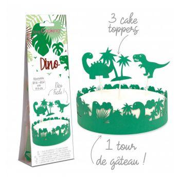 Dino Kuchen-Set Scrapcooking