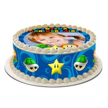 Easycake Kit für personalisierten Kuchen Mario Bross