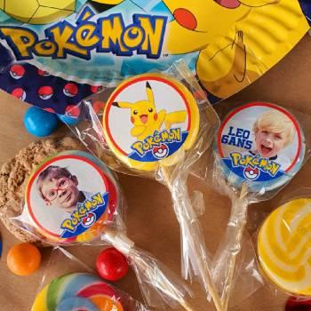 10 personalisierte lollis Dekor Pokemon