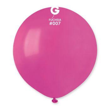 10 Ballons fuchsia Ø48cm