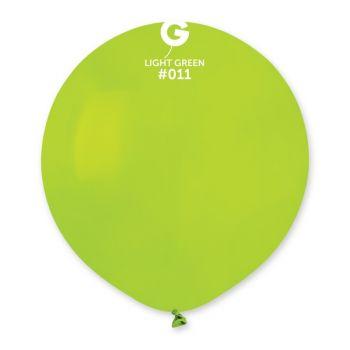 10 Ballons grün anis Ø48cm