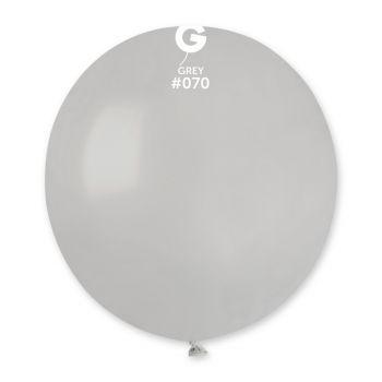 10 Ballons grau Ø48cm
