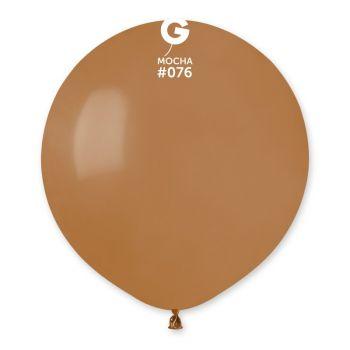 10 Ballons Mokka Ø48cm