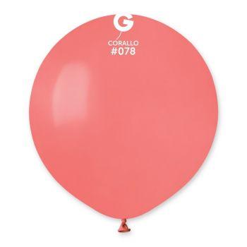 10 Korallenballons Ø48cm