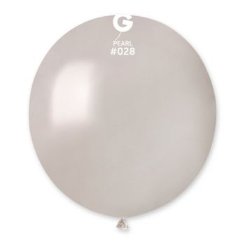 10 Metallic Ballons Perle Ø48cm