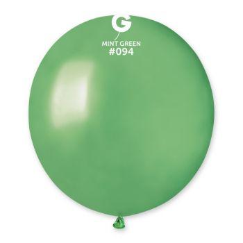 10 Metallisierte Ballons mint Ø48cm