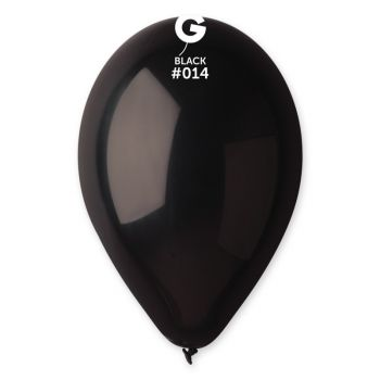 100 Ballons schwarz Ø30cm