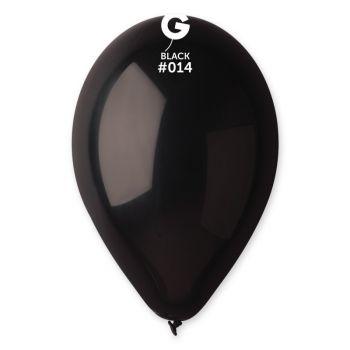50 Ballons schwarz Ø30cm