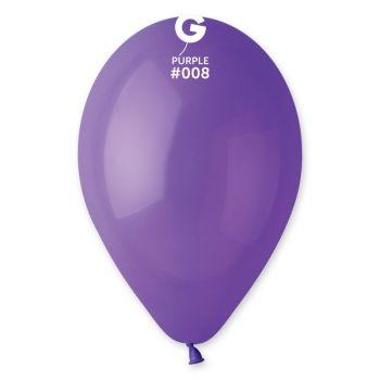 12 Lila Luftballon Ø30cm