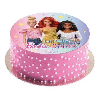 Tortenaufleger dekor Barbie
