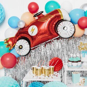 Luftballon alu Auto Vintage