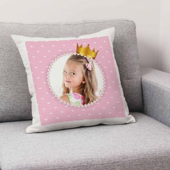 Personalisiertes Kissen Prinzessin Dekor