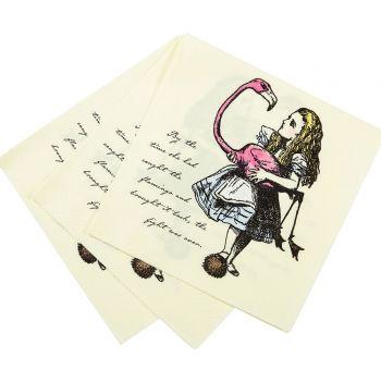 20 Tuch Alice im Wunderland