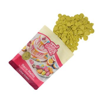 Deko Melts Funcakes grün lime 250gr