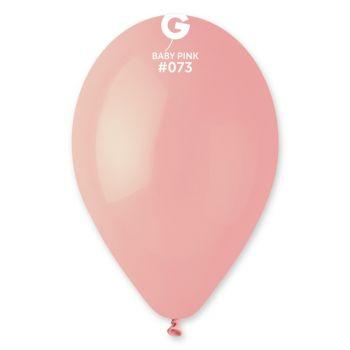 12 Luftballon rosa Baby Ø30cm