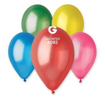 100 passende metallisierte Luftballon Ø30cm