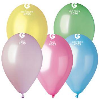 10 Passende Metallic Luftballon Ø30cm