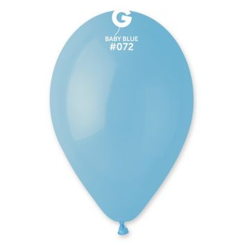 50 Babyblaue Luftballon Ø30cm