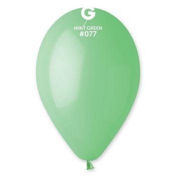 100 Mint Luftballon Ø30cm