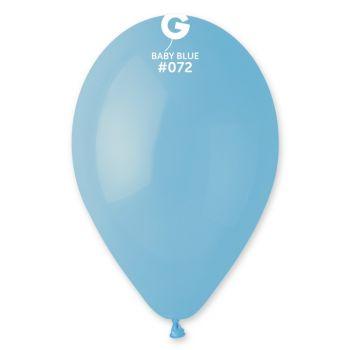 100 Babyblaue Luftballon Ø30cm