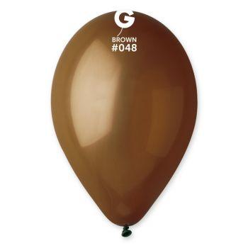 50 Braune Luftballon Ø30cm