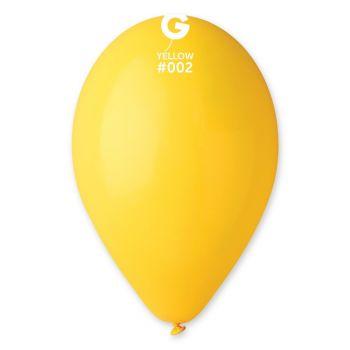 50 Luftballon gelb Ø30cm