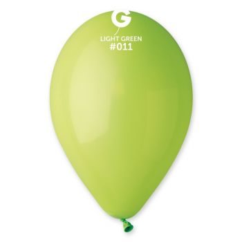 100 Luftballon grün anis Ø30cm