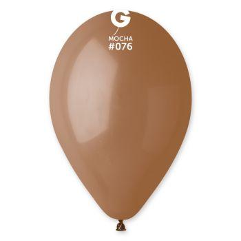 10 Ballons Mokka Ø30cm