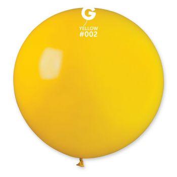 1 Riesenball gelb Ø80cm