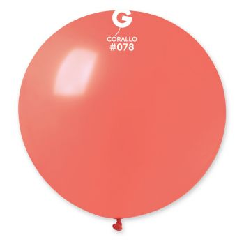 1 Riesiger Korallenball Ø80cm
