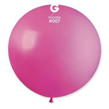 1 Riesiger Ballon fuchsia Ø80cm