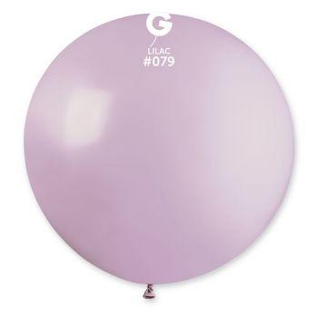 1 Riesiger Ballon flieder Ø80cm