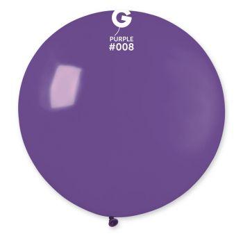 1 Riesiger Violetter Ballon Ø80cm