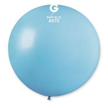 1 Riesenball blau Baby Ø80cm
