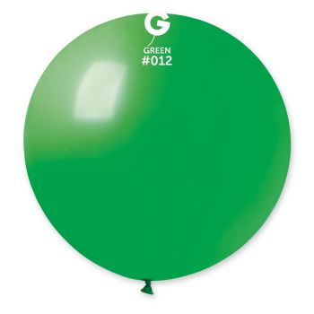 1 Riesiger Ballon grün Ø80cm