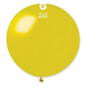 1 Gelber Riesenball Ø80cm