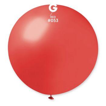 1 Riesenball rot metallisiert Ø80cm
