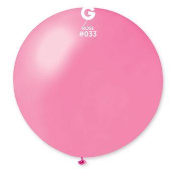 1 Riesiger Ballon metallisiert Ø80cm