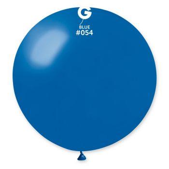 1 Riesenball blauer König Metallic Ø80cm