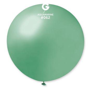 1 Riesiger wassergrüner Wasserball Ø80cm