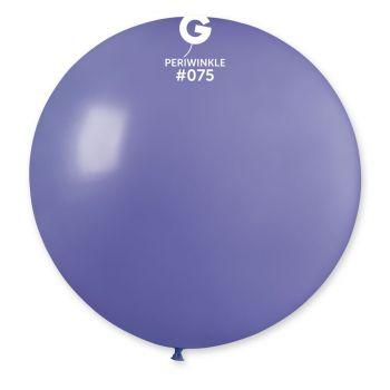 1 Riesiger Ballon blau Ø80cm