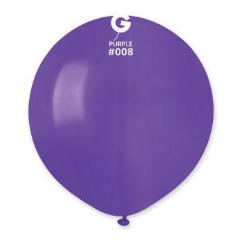 10 Lila Ballons Ø48cm